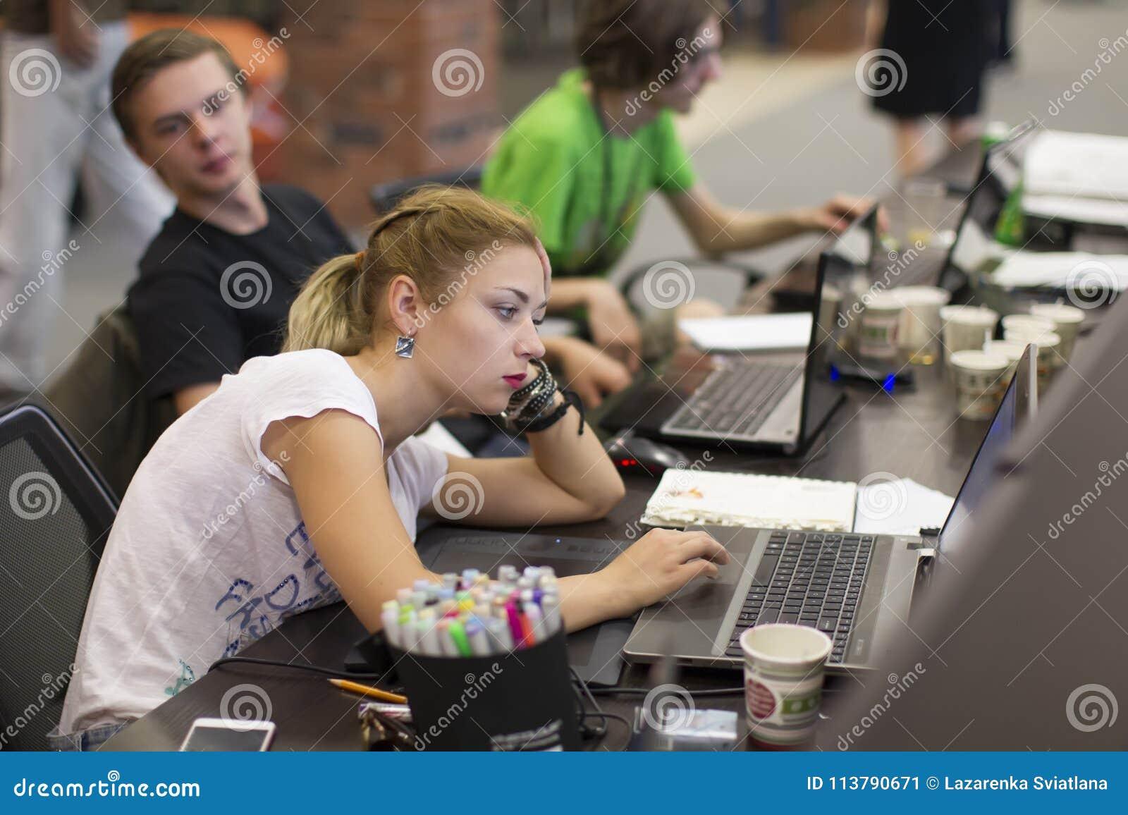 Programadores en el trabajo
