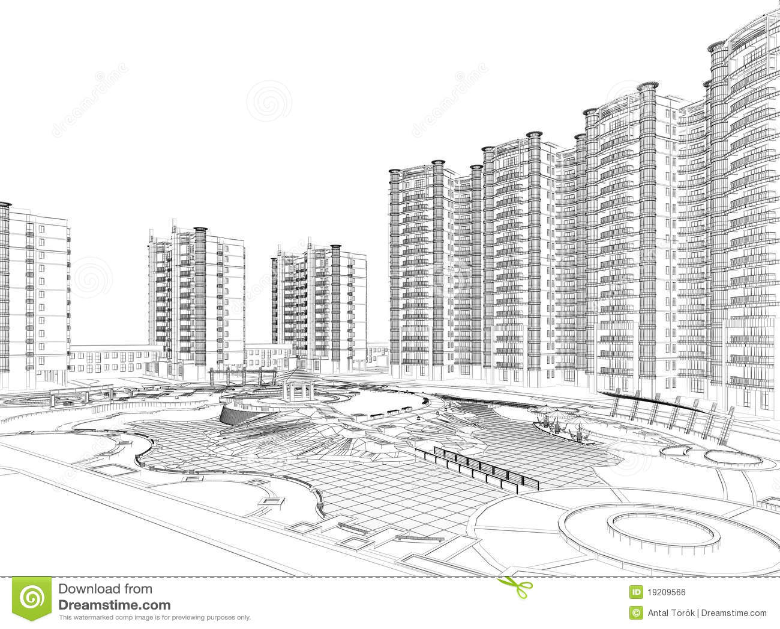 Programma architettonico del wireframe