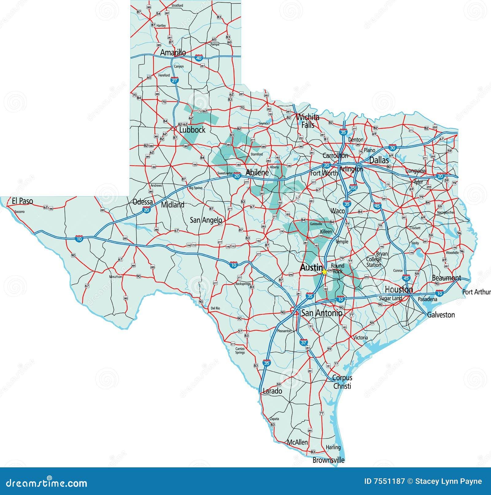 Programma da uno stato all altro del Texas