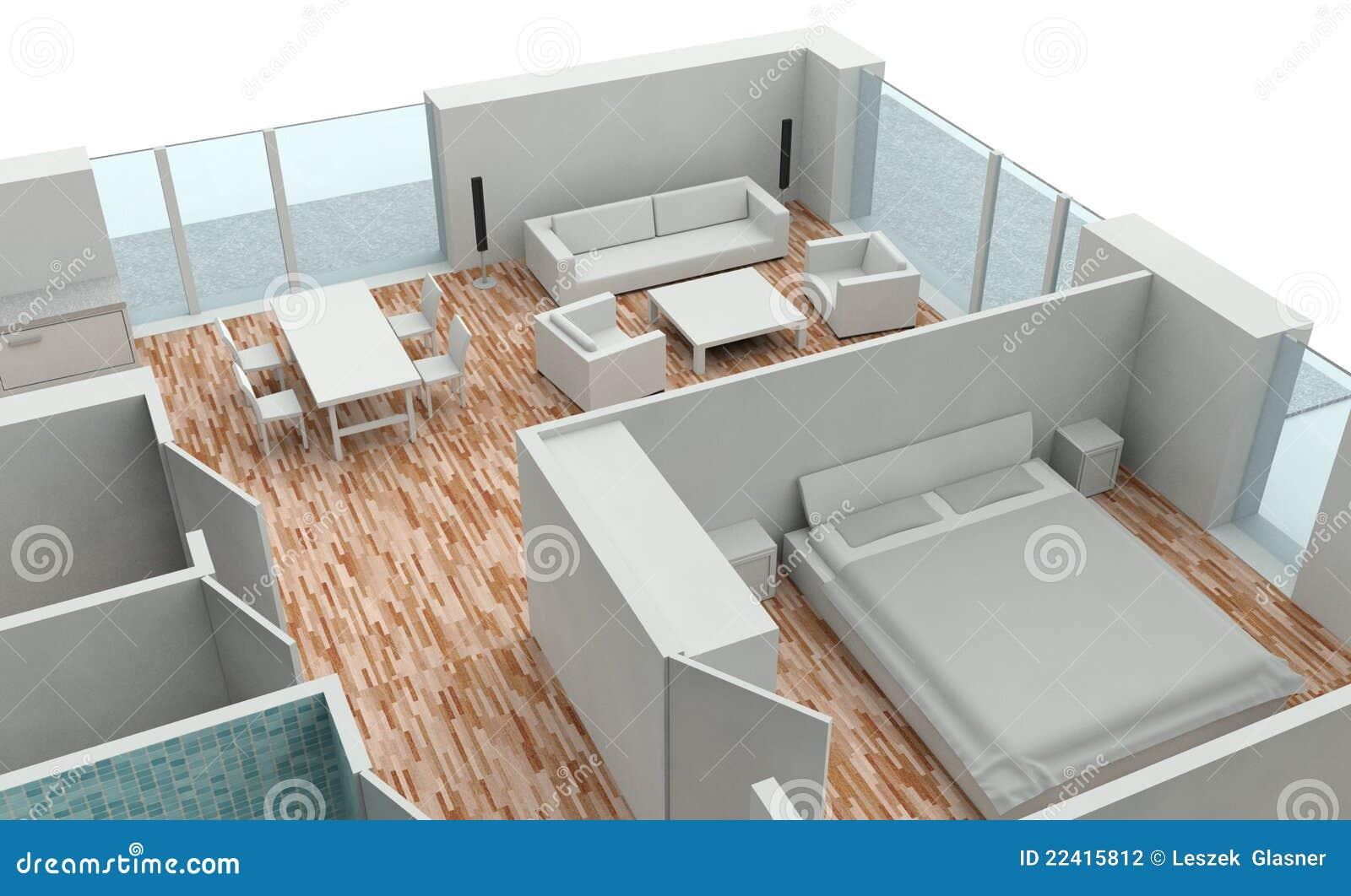 programma della casa della rappresentazione 3d On programma disegno casa
