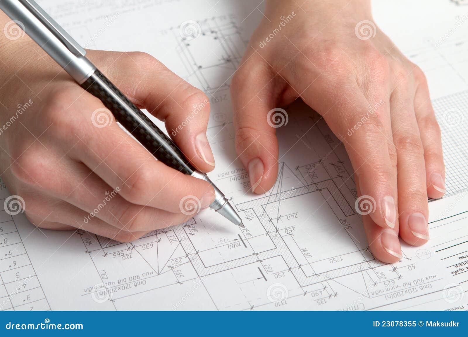 Programma della costruzione immagine stock immagine di for Programma di disegno della casa libera