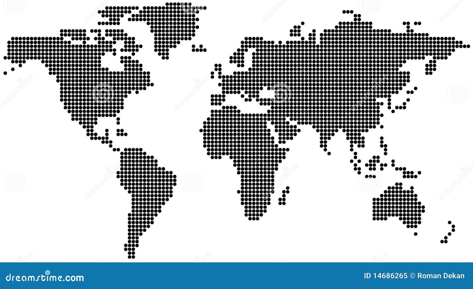 Programma di mondo punteggiato