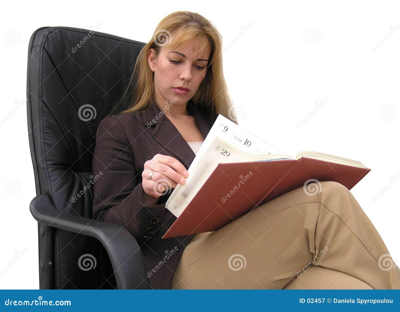 Download Programma occupato immagine stock. Immagine di businesswomen - 2457