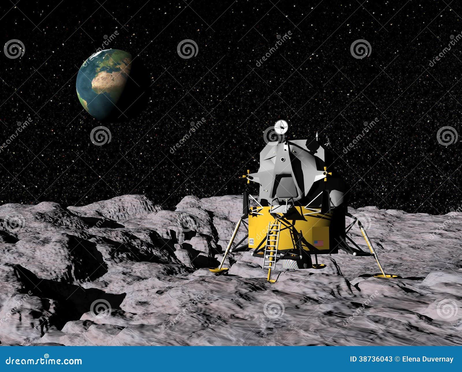 Programme Apollo - 3D rendent