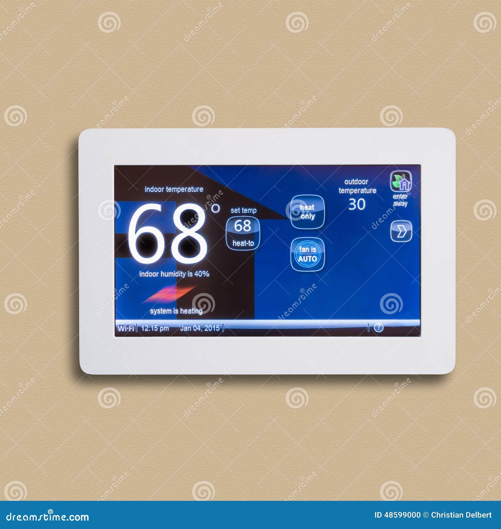 koppla in programmerbar termostat