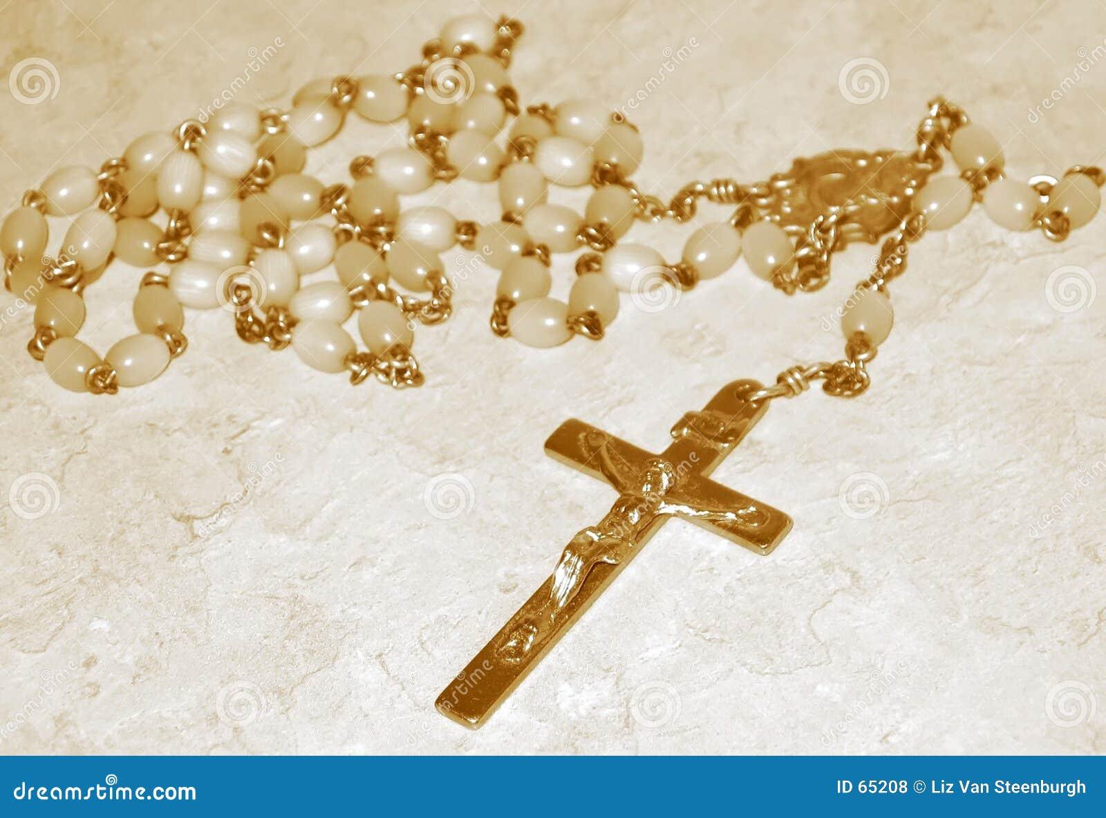 Programmes de rosaire, sépia