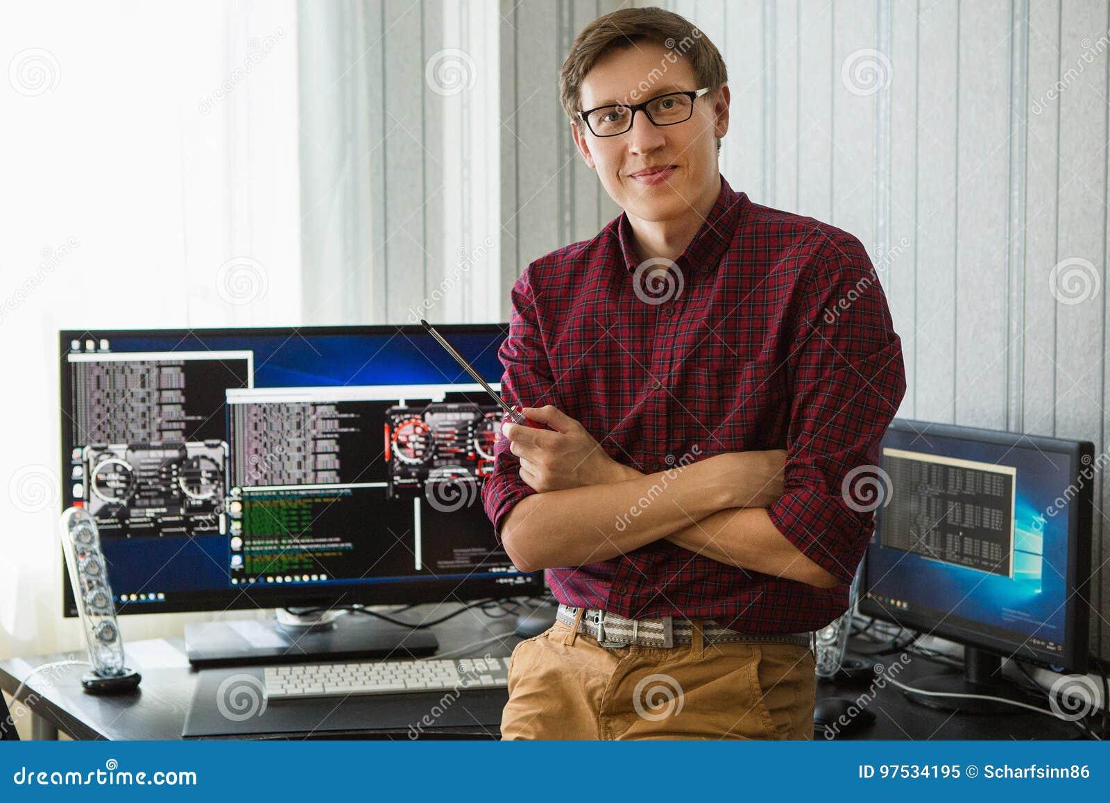 Programmierer bitcoin Bergbau