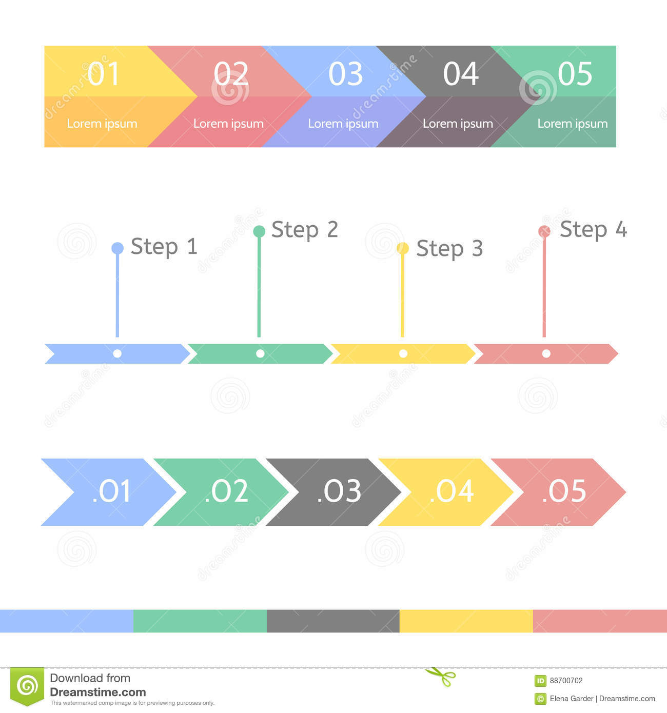 progress chart statistic concept  business flow process diagram   infographic template for presentation  timeline statistical chart