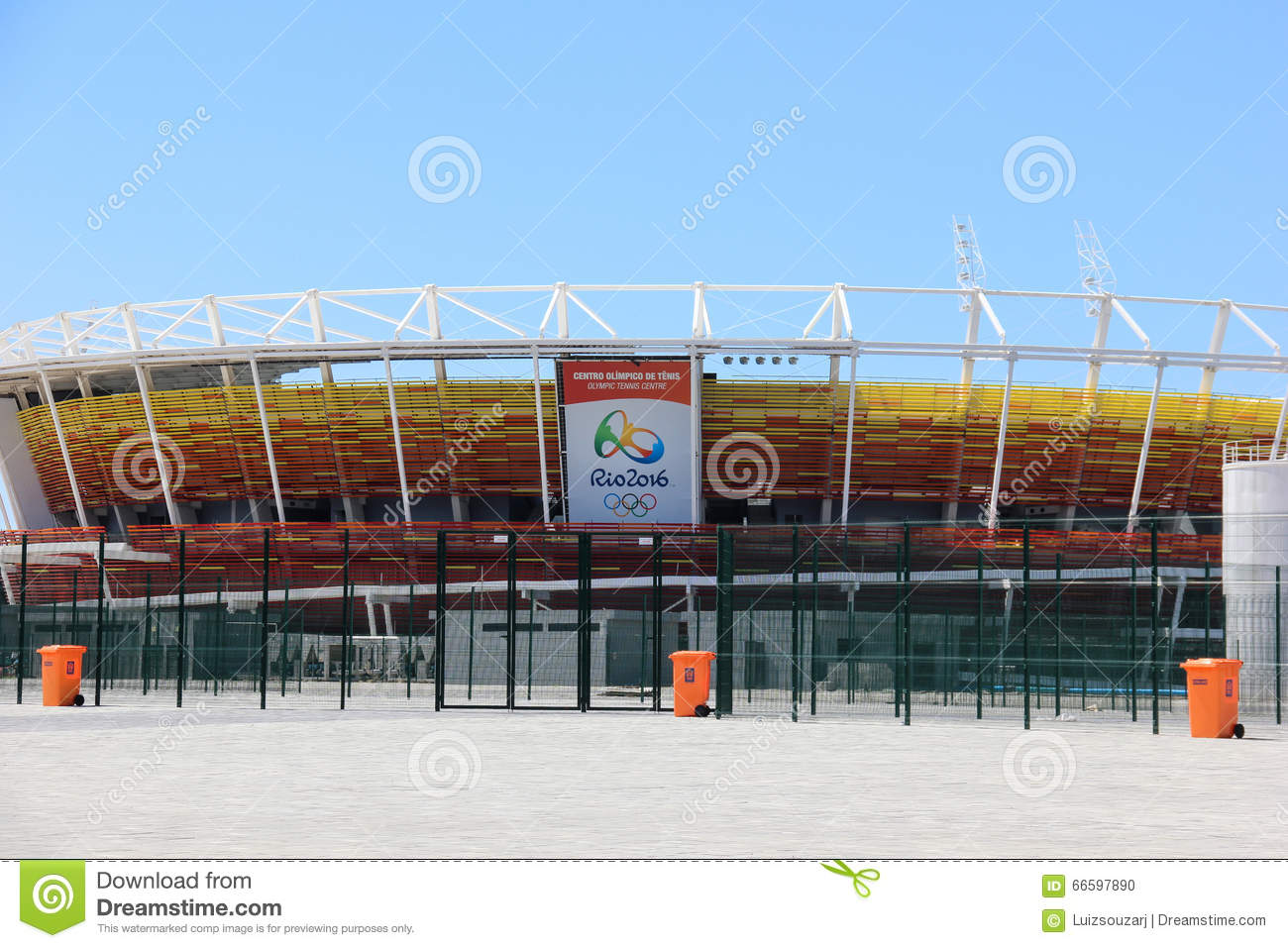 Progress of construction of the Rio 2016 Olympic Park
