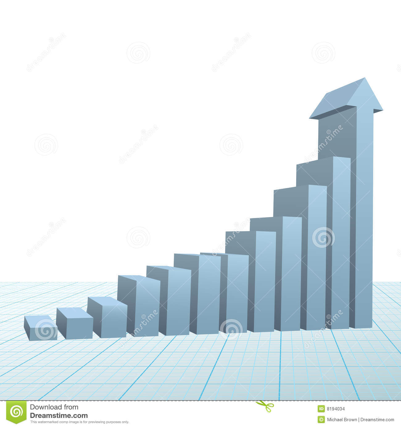 Z Chart Statistics Progress Growth Bar Ch...