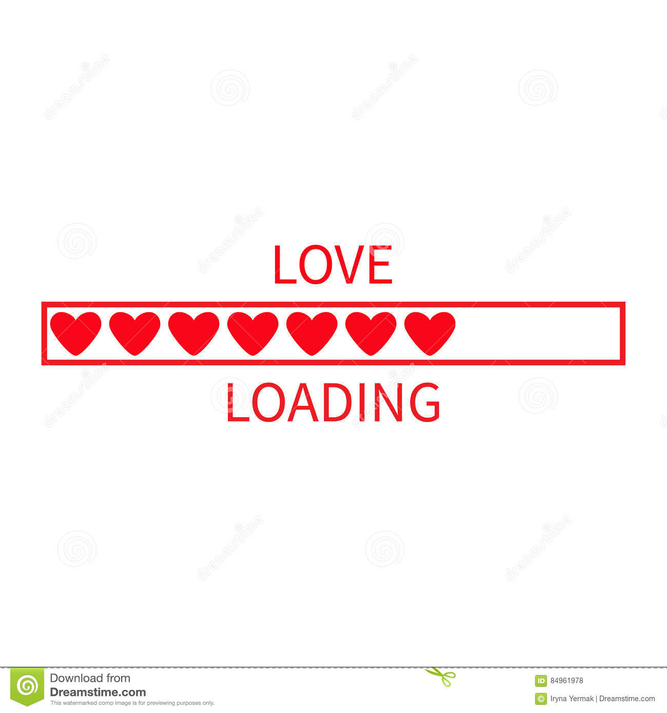 Progress status bar icon love loading collection red heart funny download comp voltagebd Choice Image