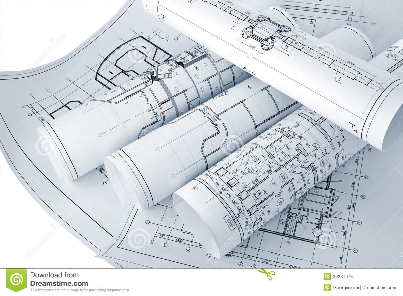 Project Drawings Royalty Free Stock Image Image 32381076