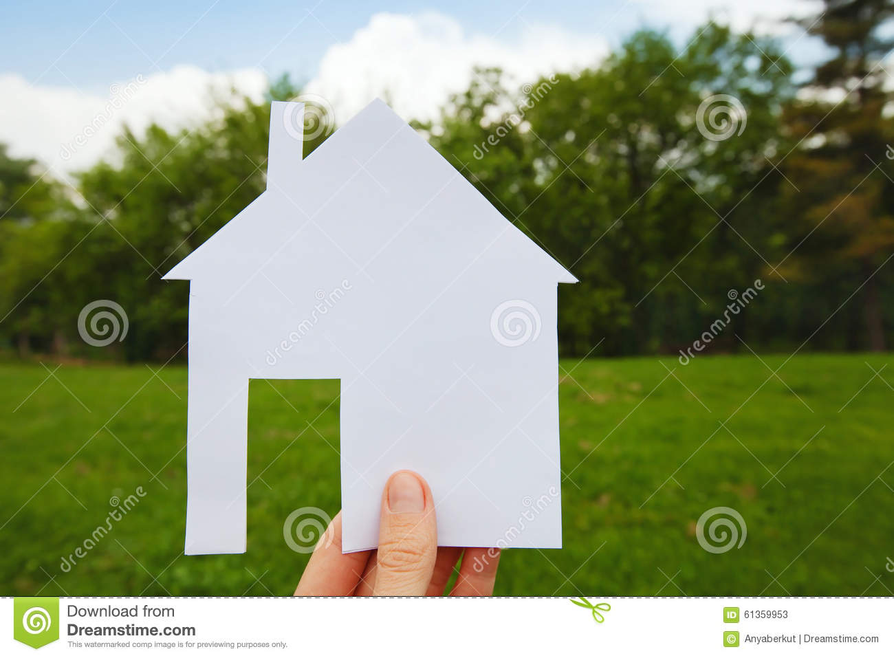 Project Of House Stock Photo Image 61359953