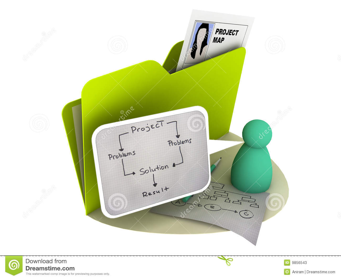 Project Icon Stock Photos - Image: 9856543