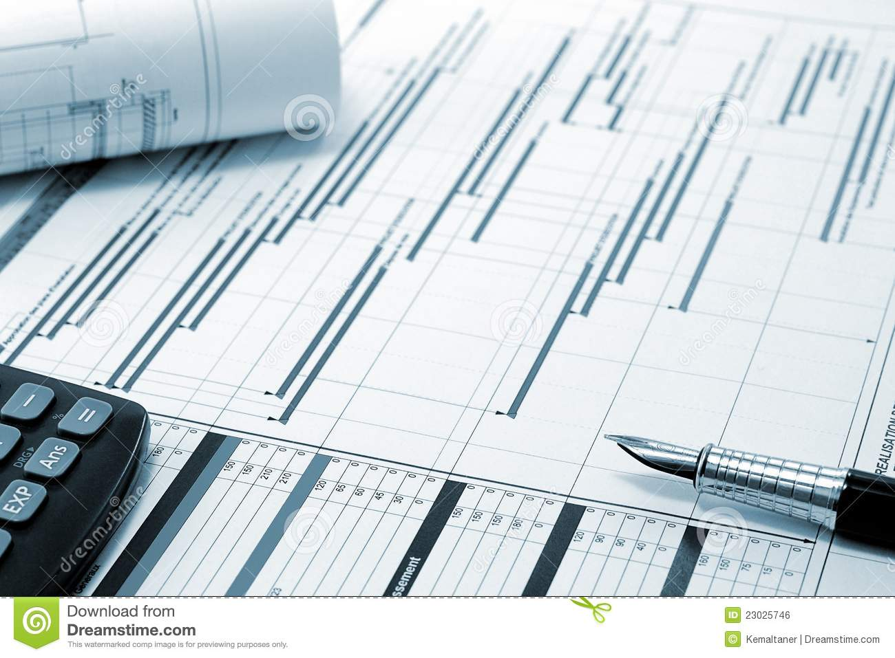 Project Management Construction Project Planning Royalty