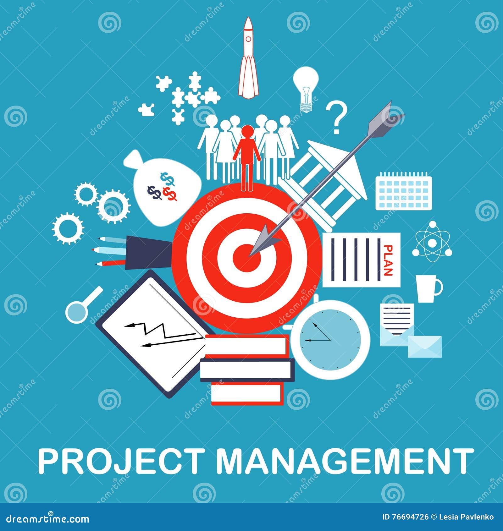 Project Development Illustration Cartoon Vector