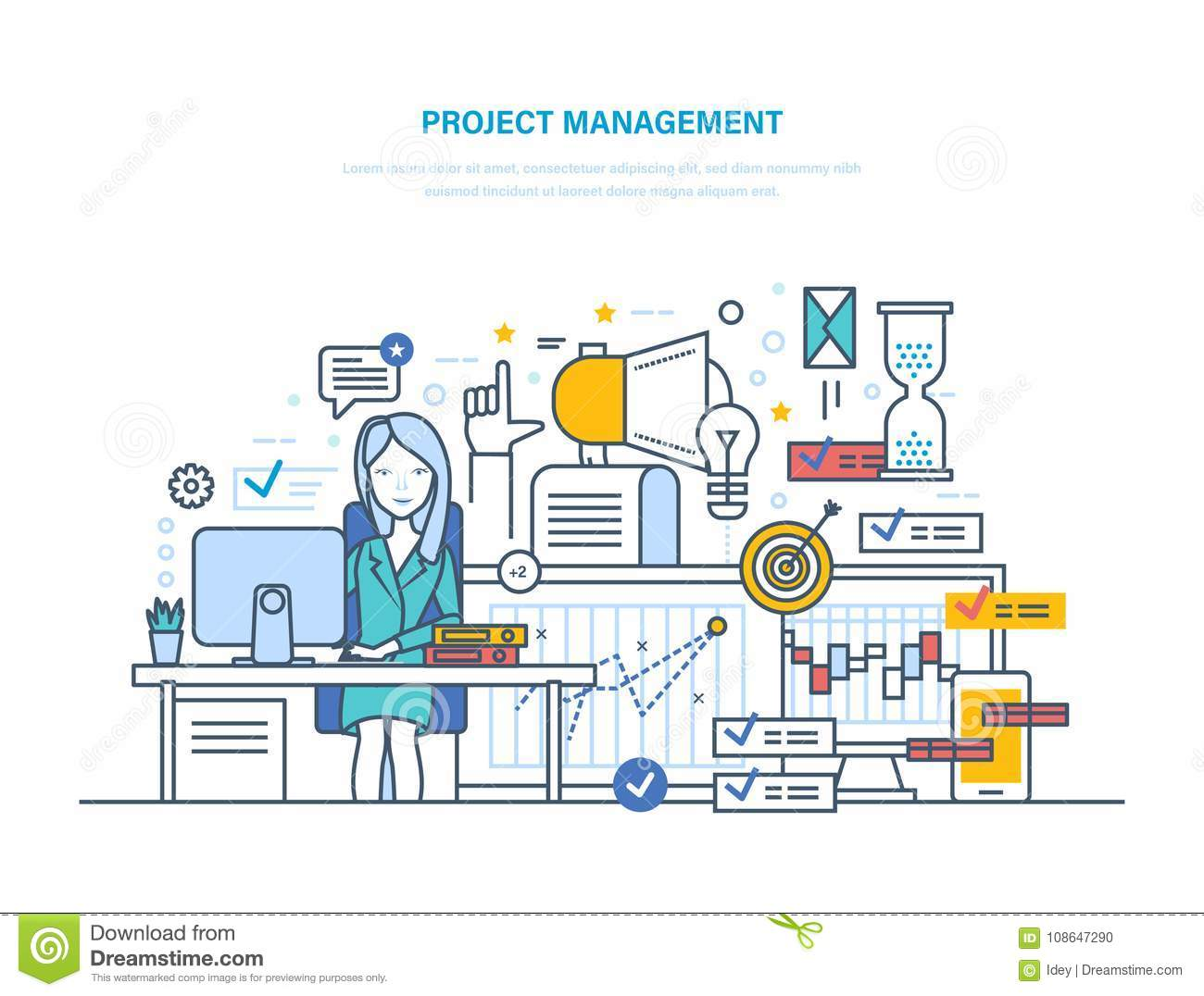 Project Management Organizing Controlling Company Resources