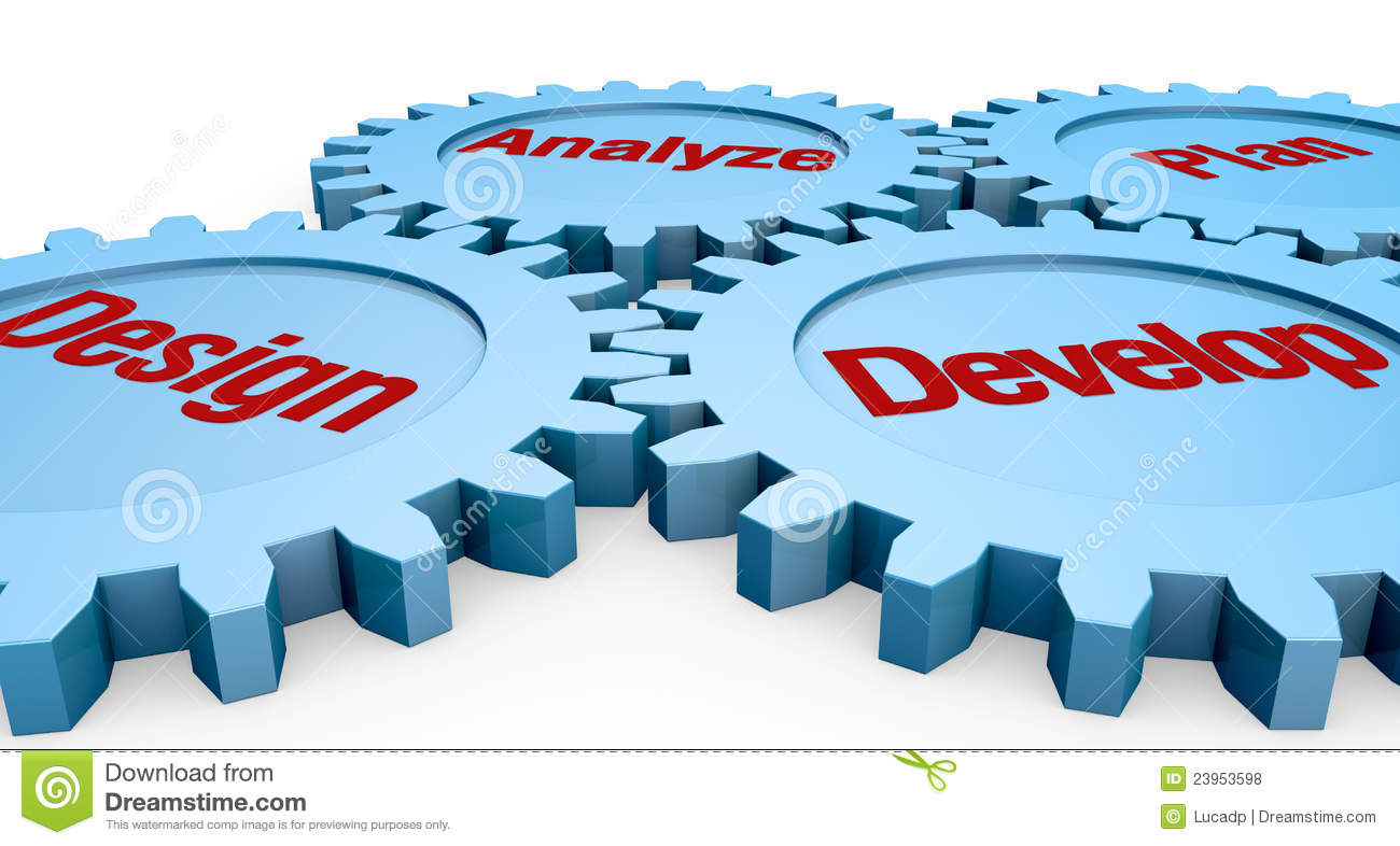 Project phases stock illustration. Illustration of ...