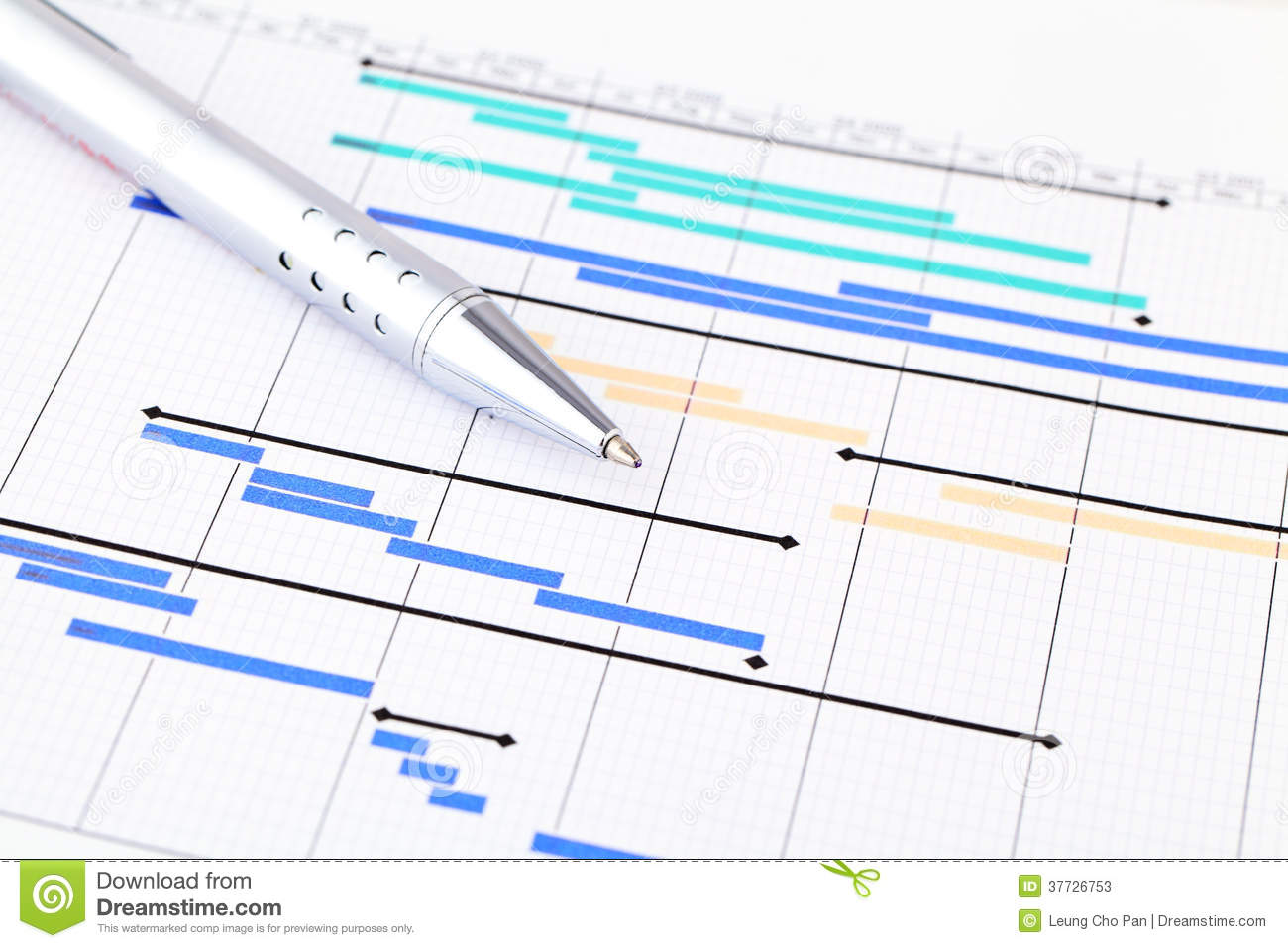 Project Plan Stock Photos - Image: 37726753