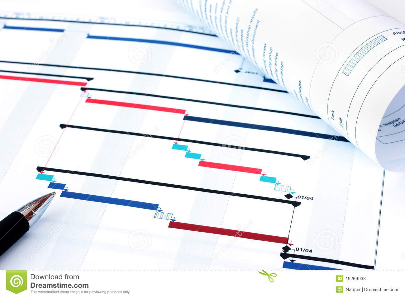 Project planning gantt chart stock photos image 19264033 for Project planner hd