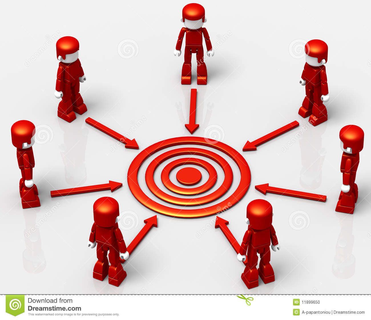 how to set target for sales team
