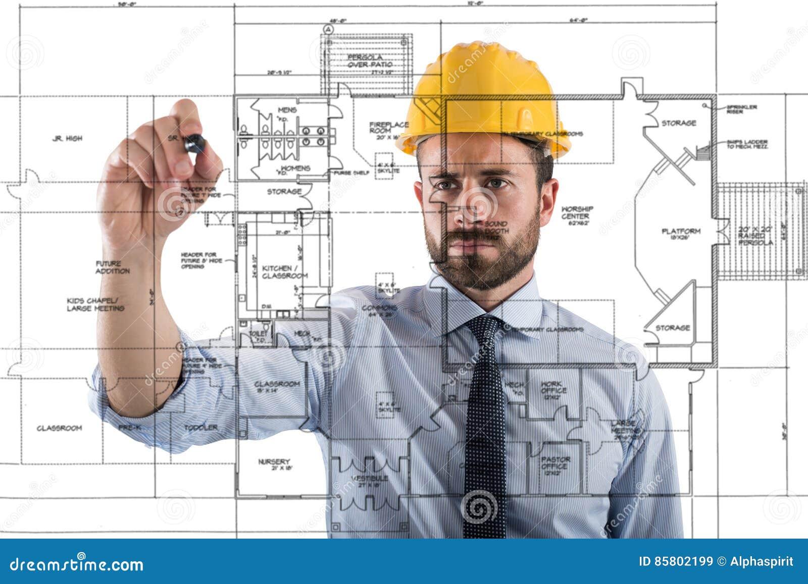 Project van binnenland van bouwstijl