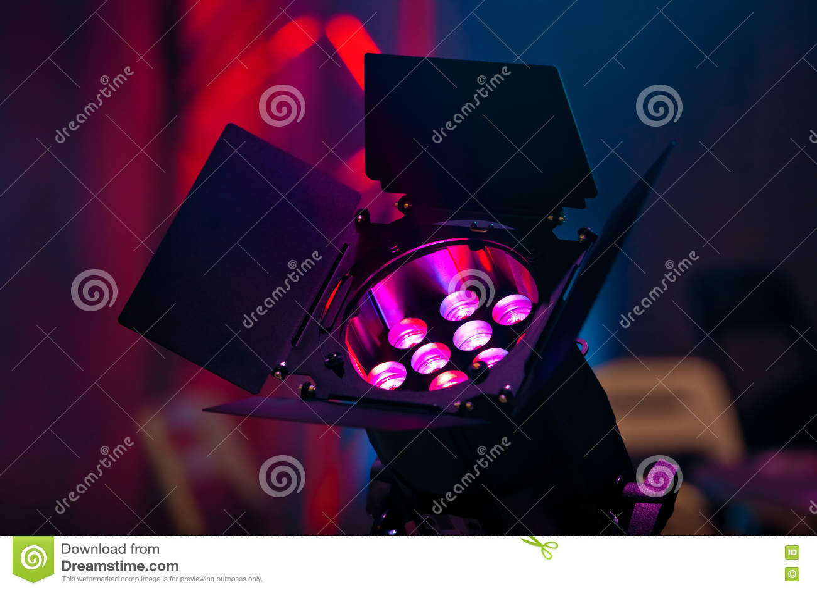 Projecteur sur le concert