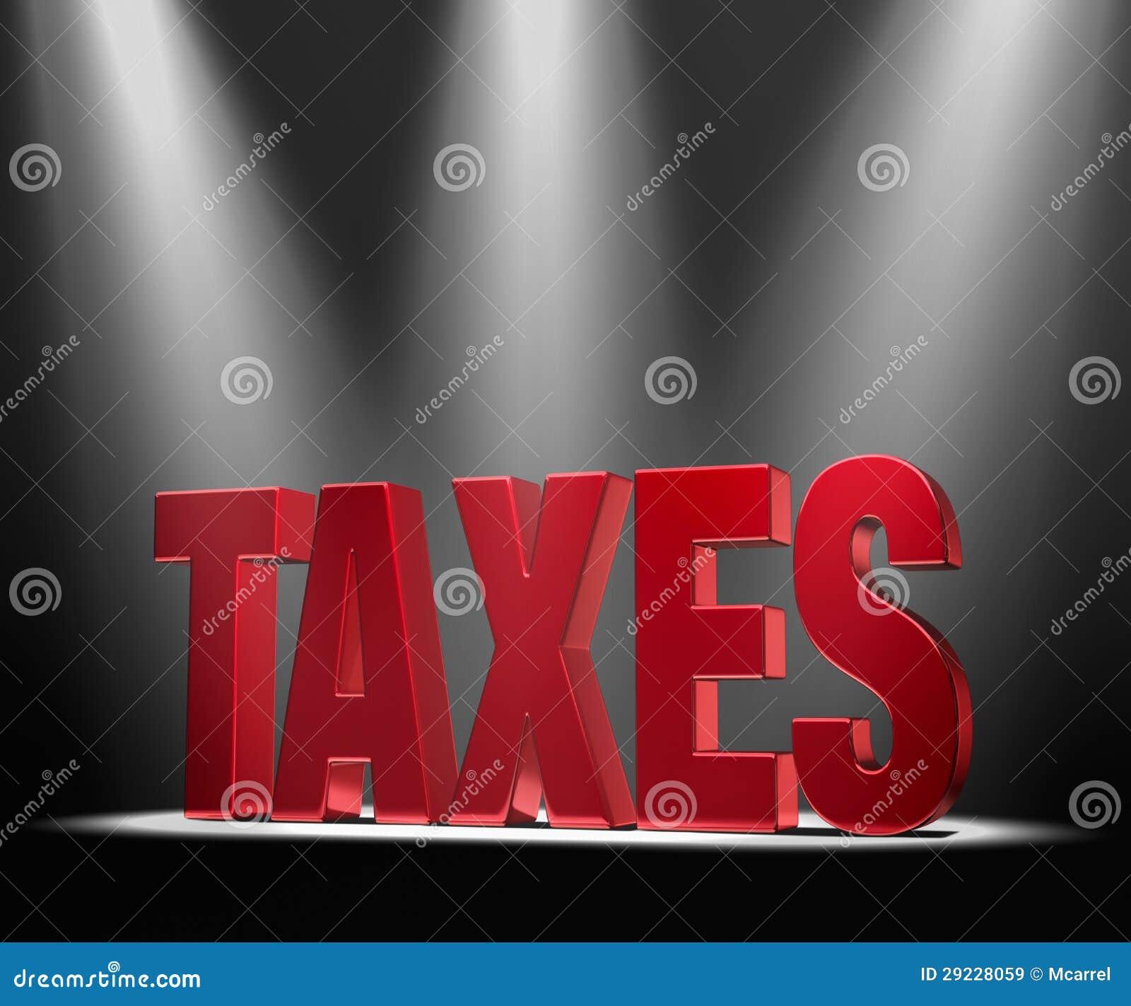 Download Projector em impostos ilustração stock. Ilustração de taxation - 29228059