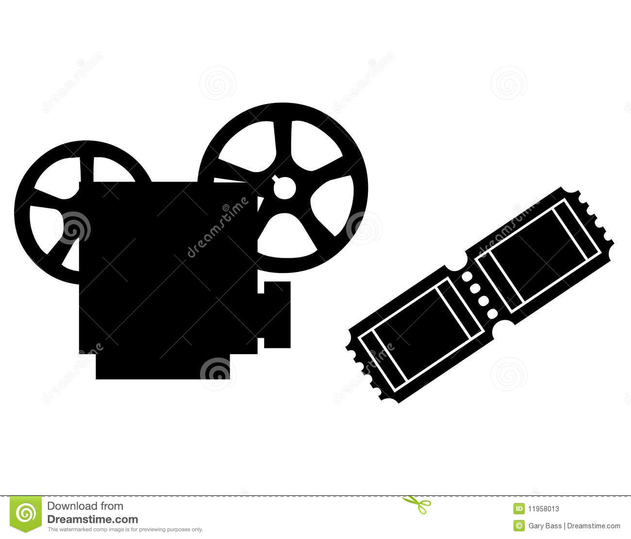 clipart of movie projector - photo #40