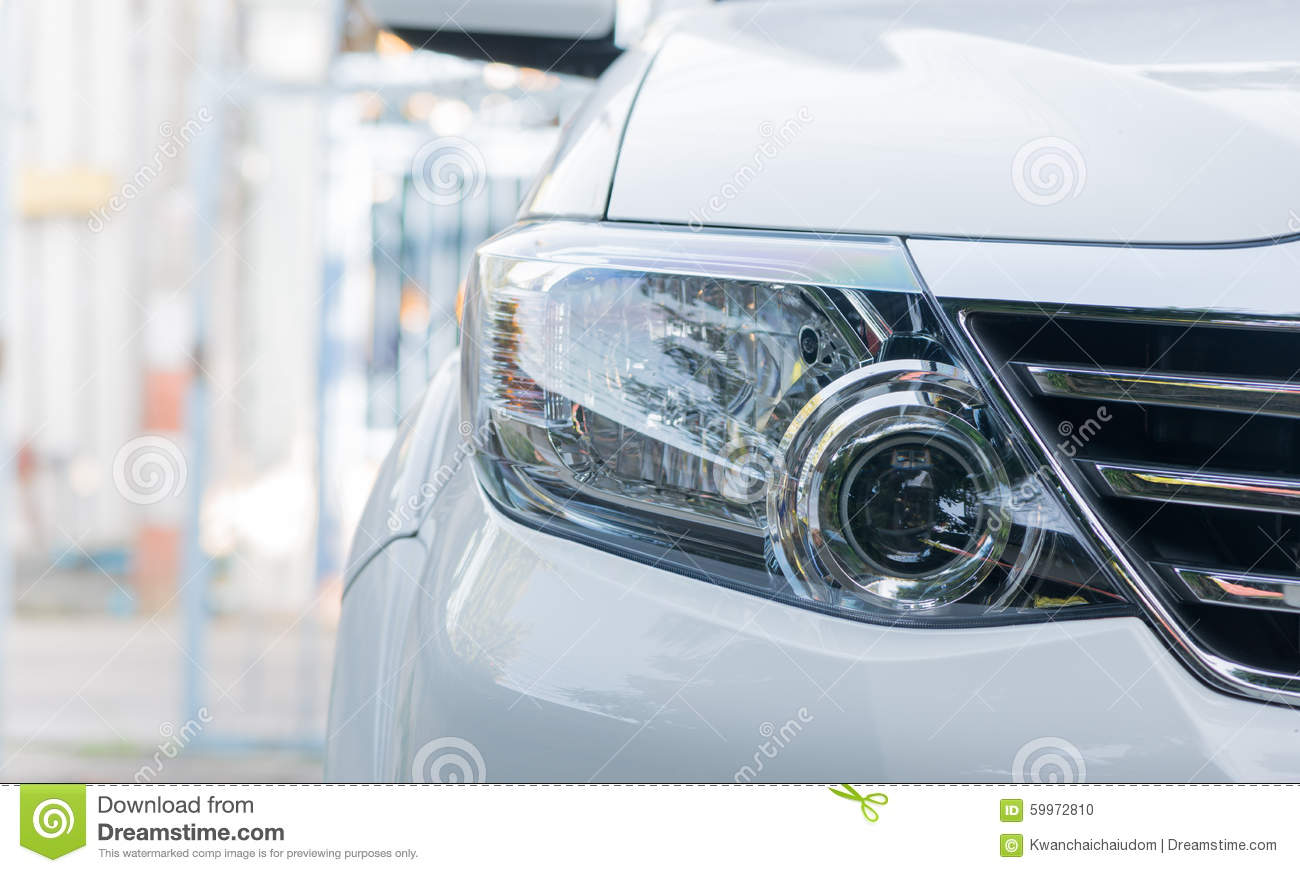 Projector Headlamp Car Stock Photo Image Of Cathodes 59972810