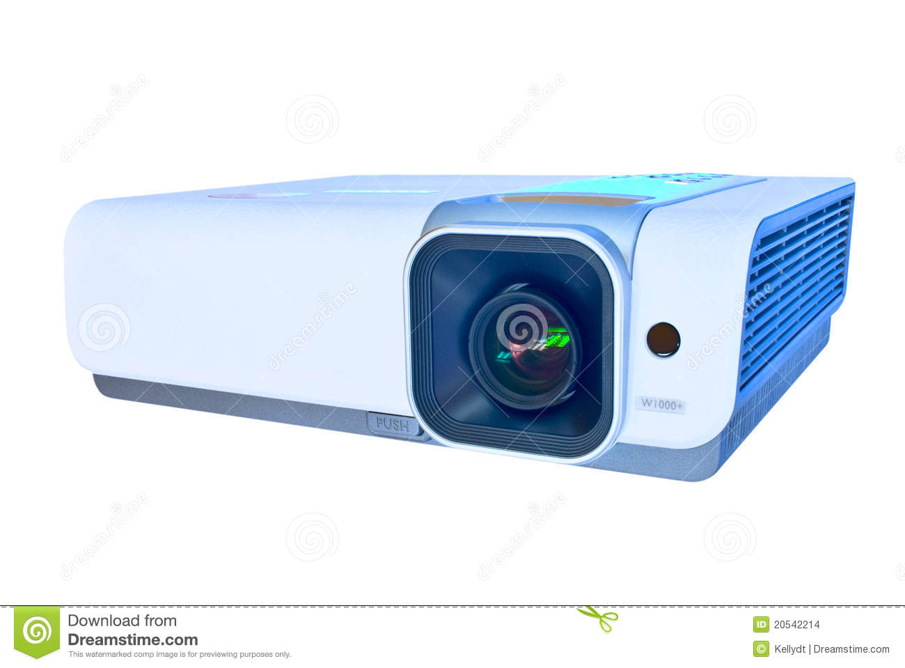 Projector isolated on white