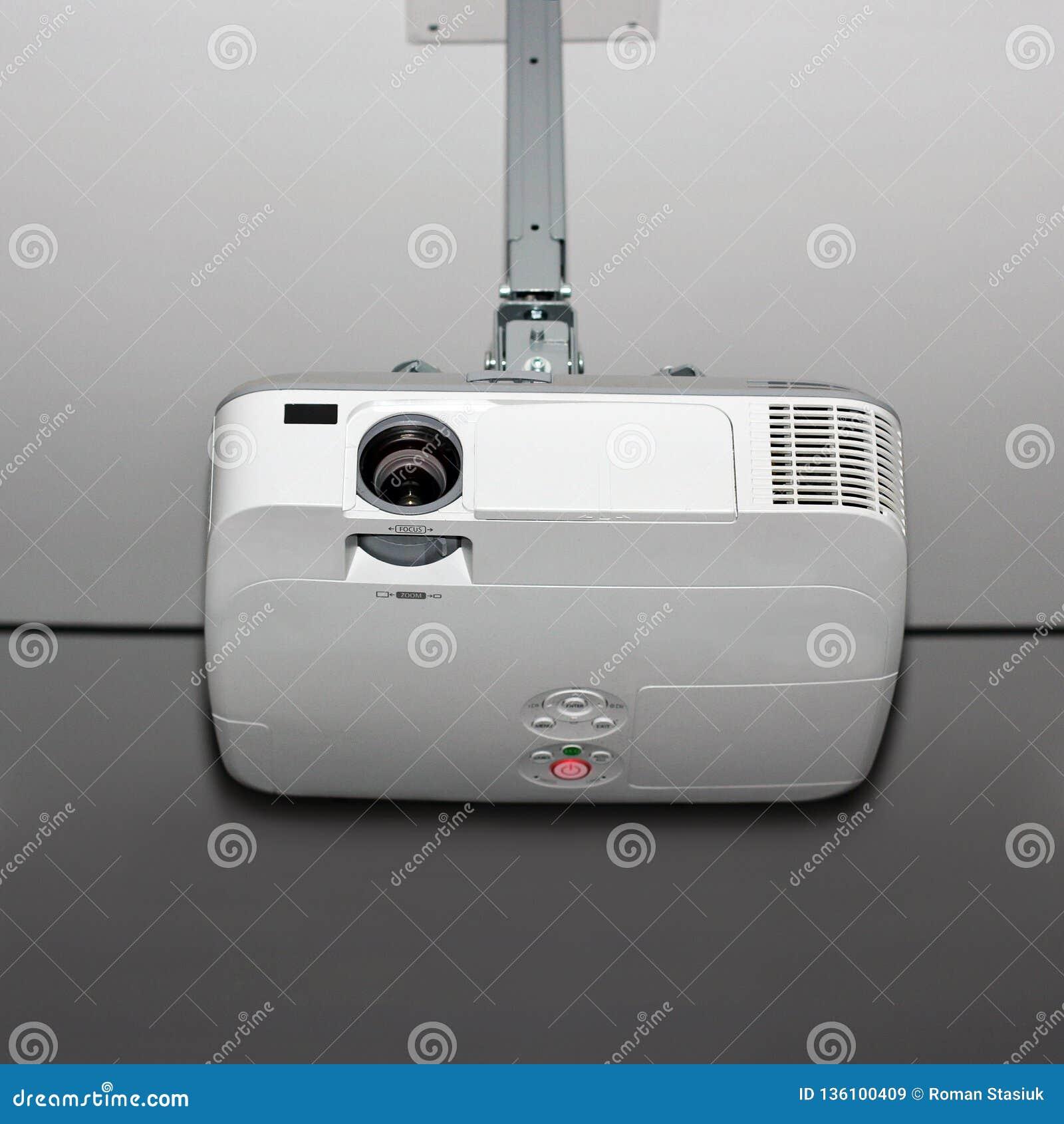 Projector op het plafond