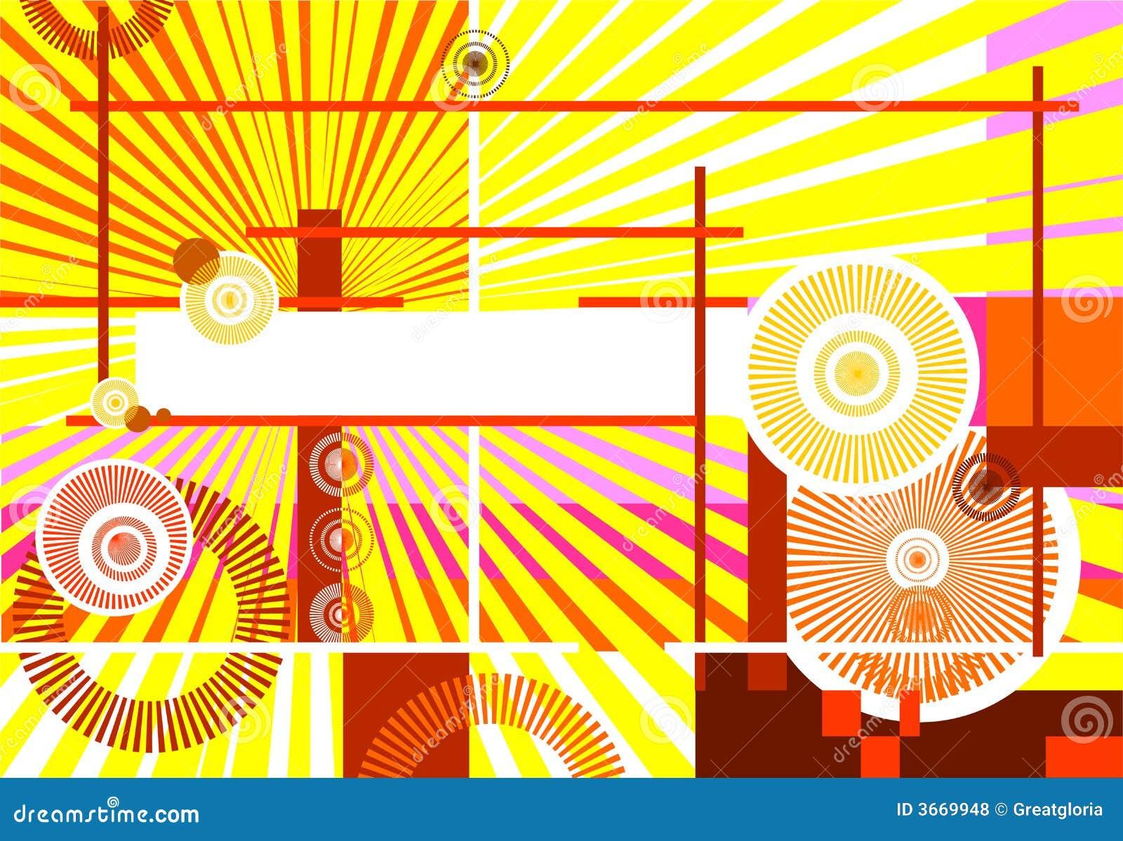 Projekt abstrakcyjne tło