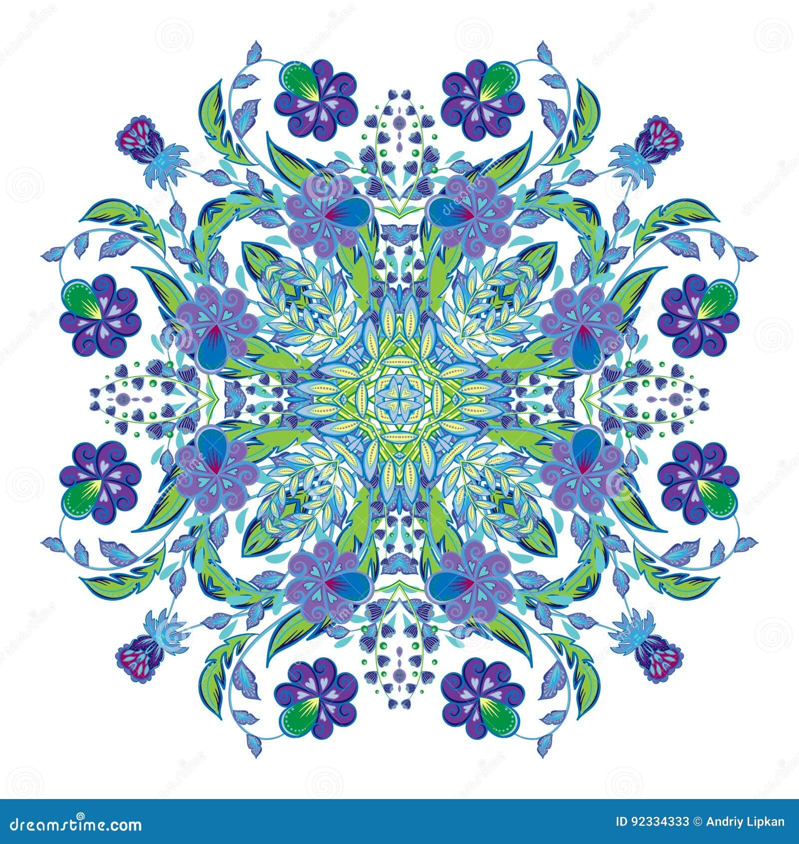 0618ca4f6b2488 Projekt dla kwadrat kieszeni, chusta, tkanina Paisley kwiecisty wzór  Kolorowy Paisley ornament