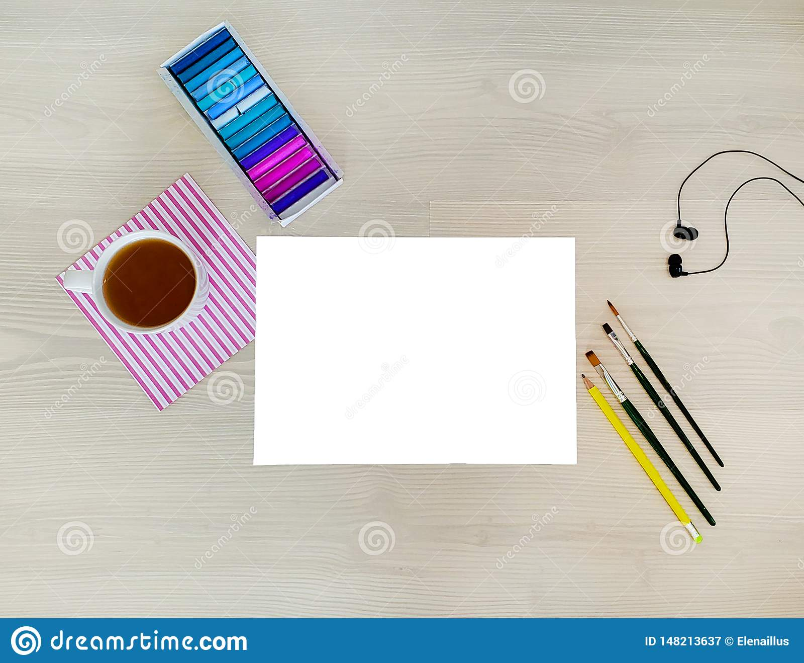 Projektant, artysta miejsce pracy E