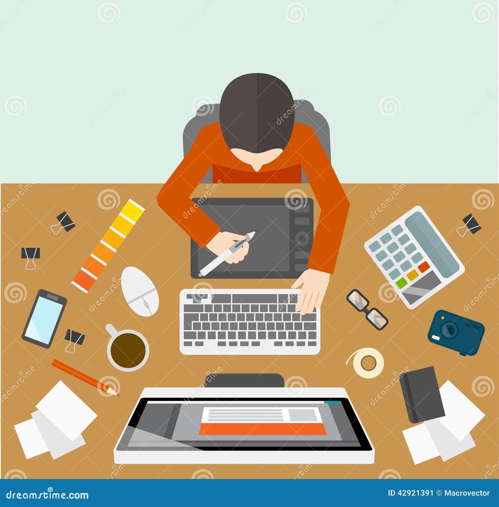 Projektanta zarządzania miejsce pracy