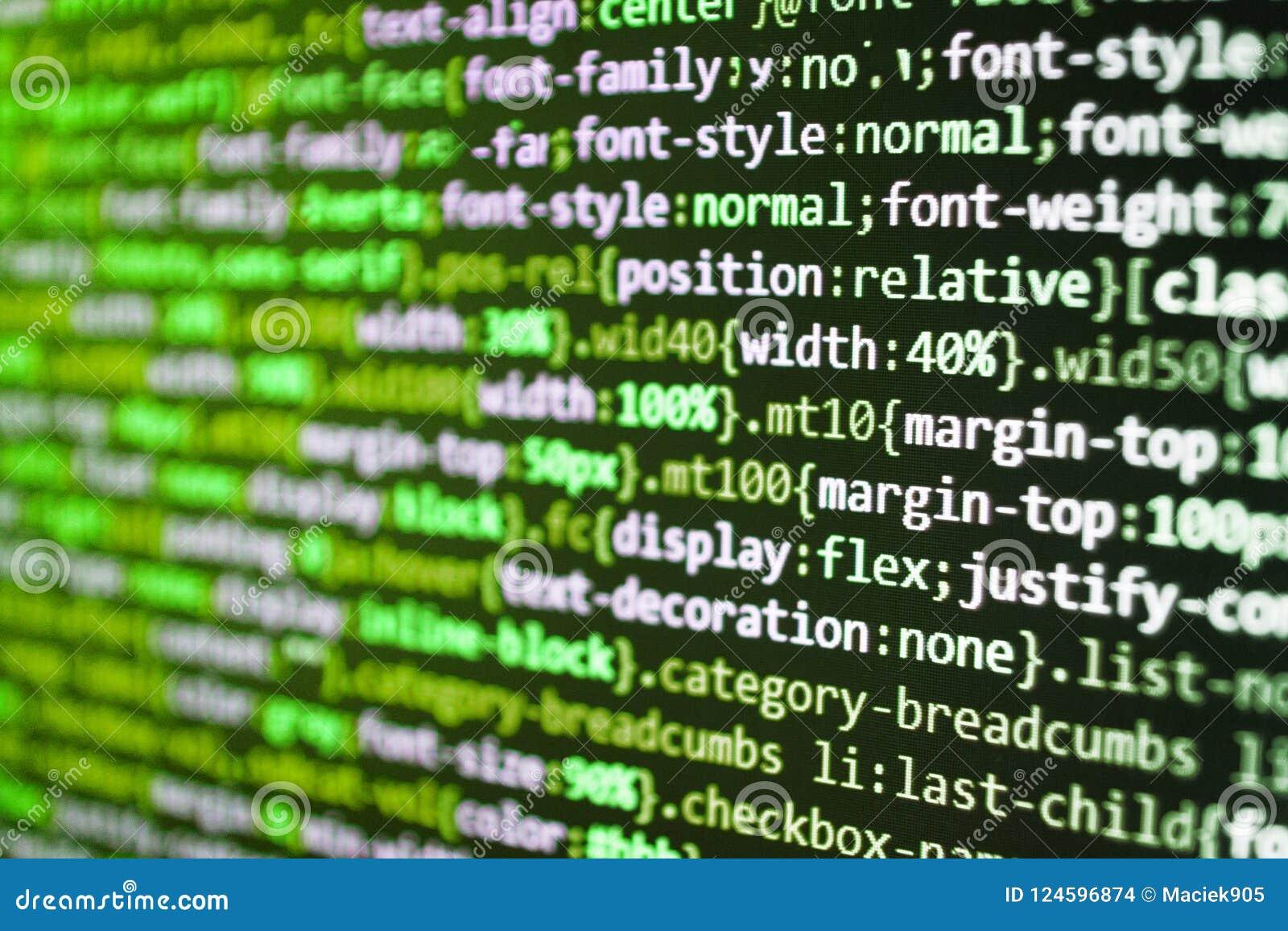 Projektchefer arbetar ny idé Closeup av javaScripten
