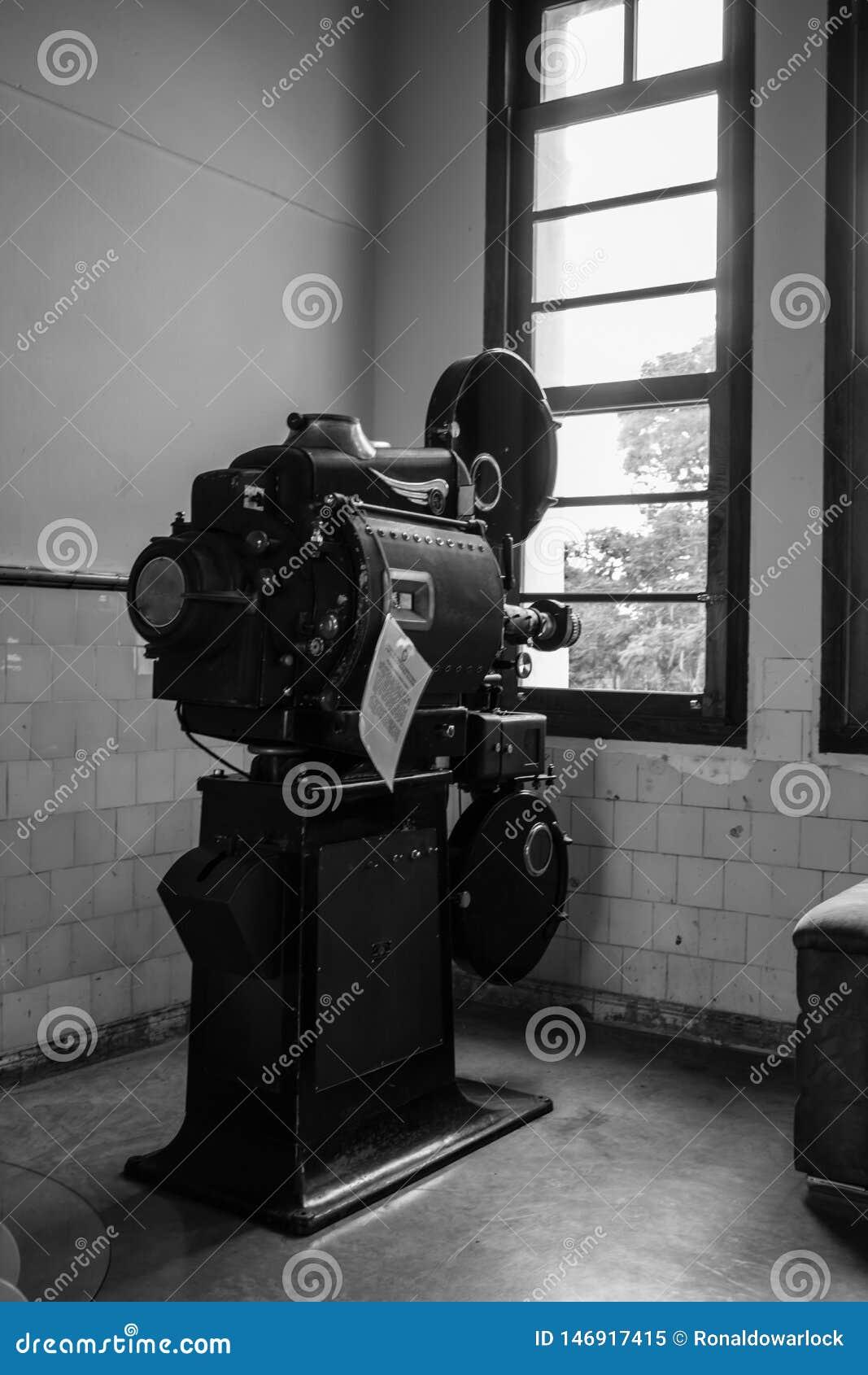 Projektor f?r filmnummer ett