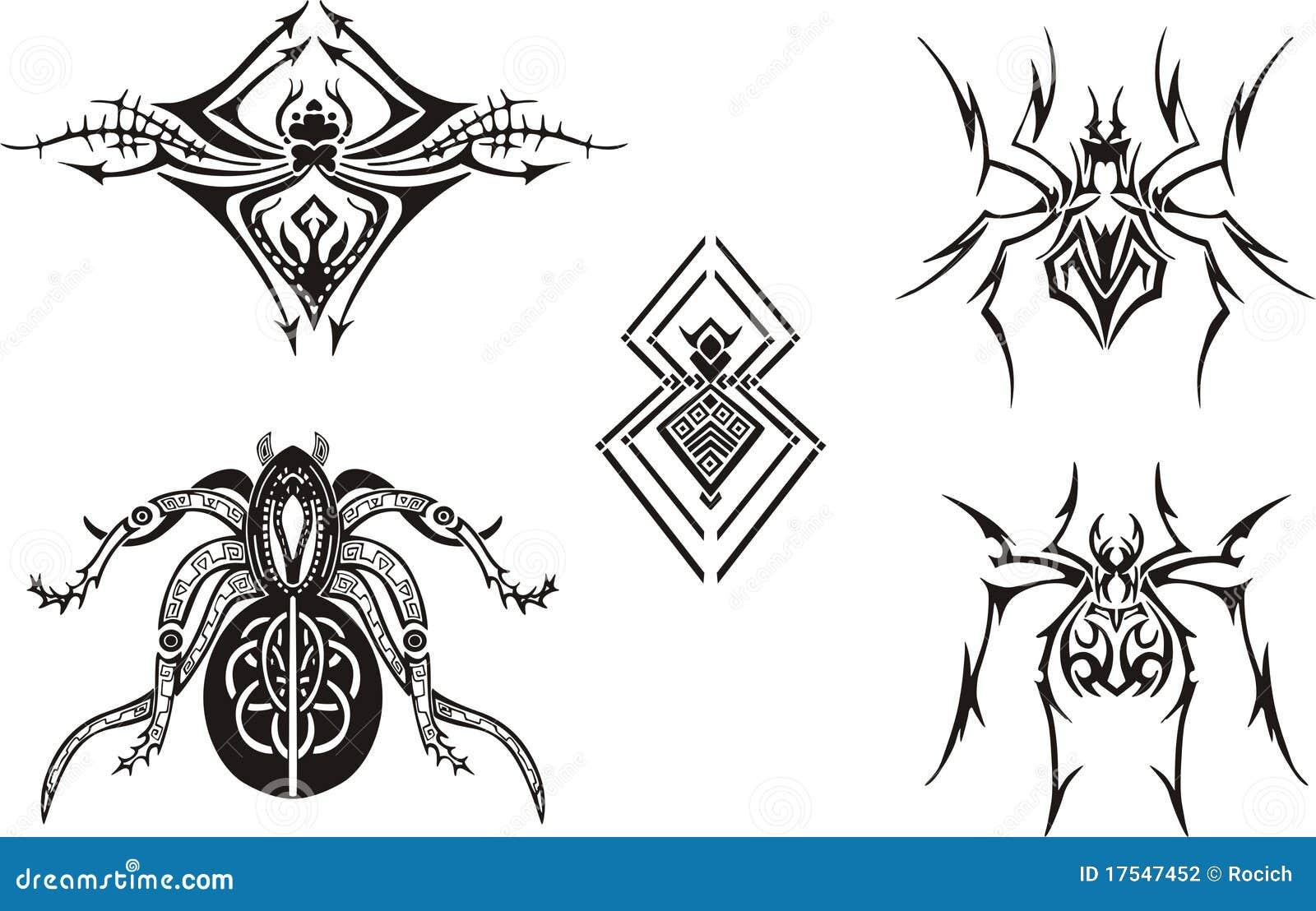 Projektuje pająka symetrycznego