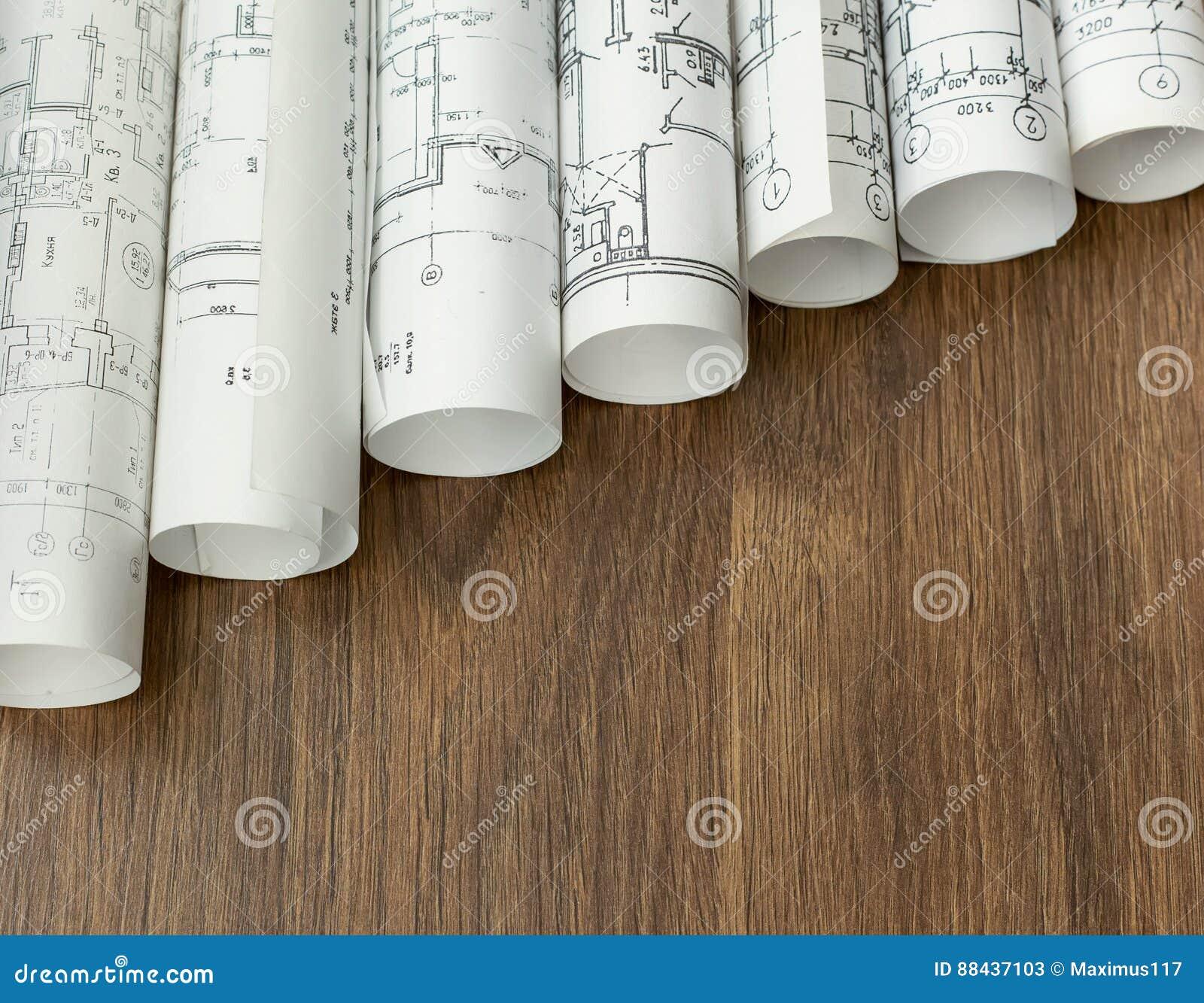 Projet architectural, modèles, blueprin