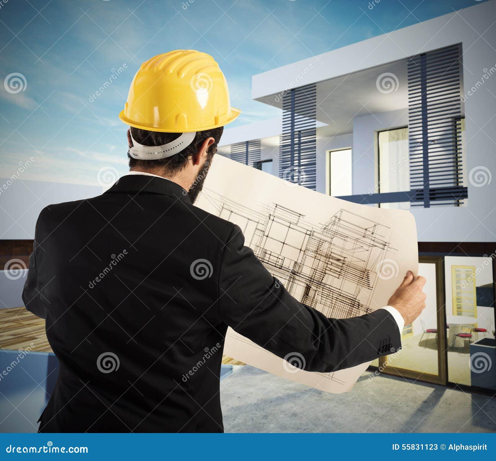 Projet de villa d architecte