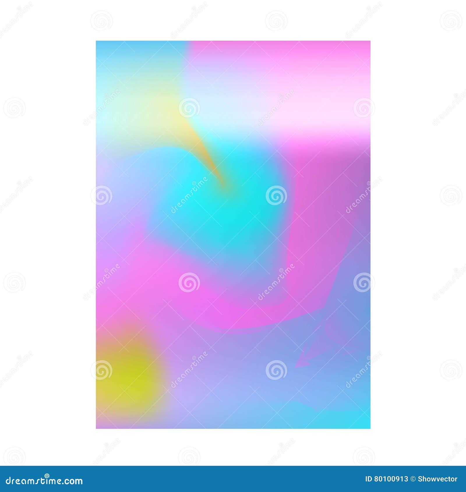 Projeto abstrato da disposição da cor do borrão
