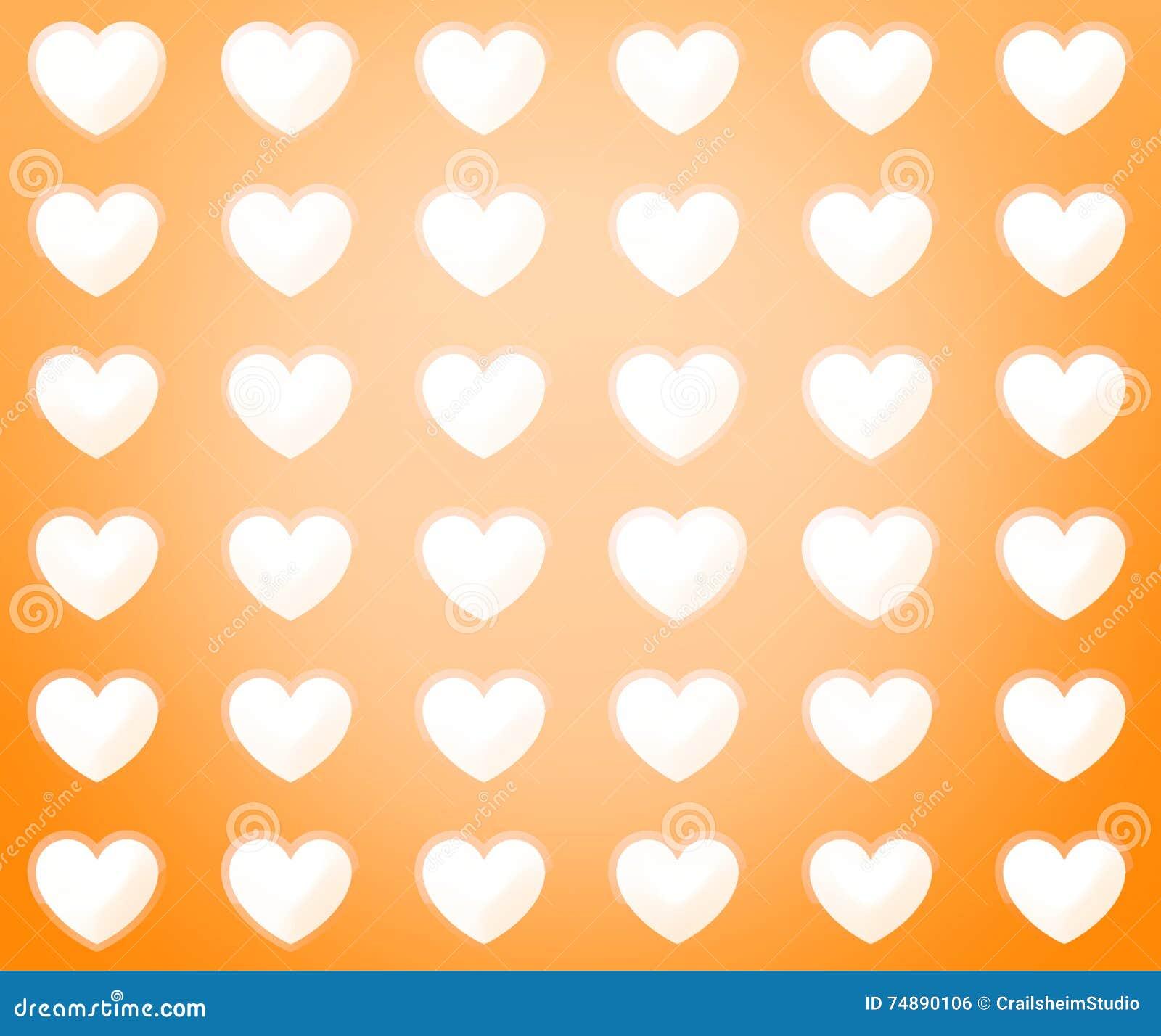 Projeto agradável bonito do coração
