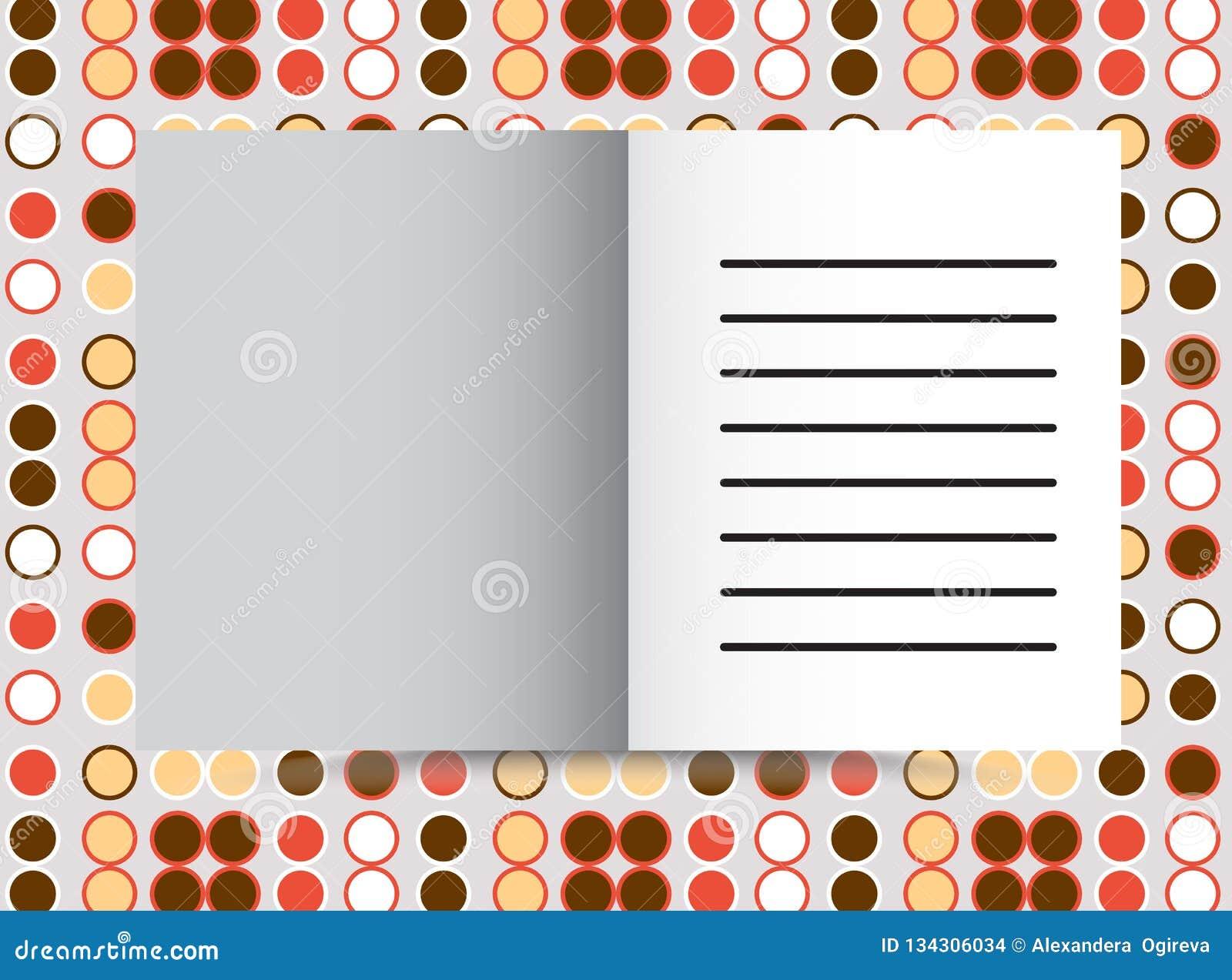 Projeto alaranjado da tampa para o informe anual, o catálogo ou o compartimento, o livro ou o folheto, a brochura ou o inseto