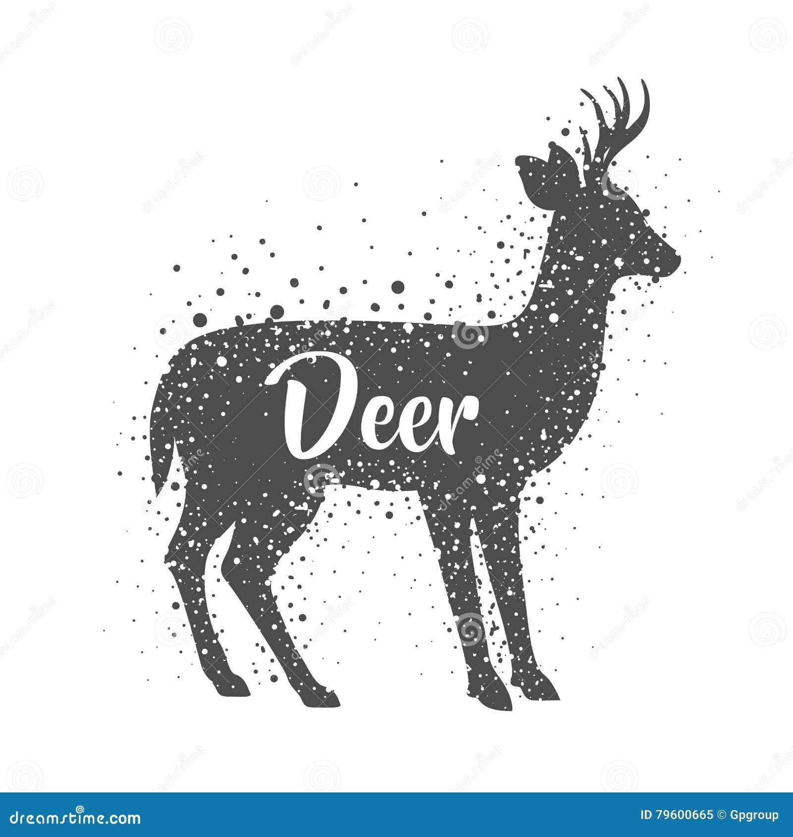 Projeto animal isolado dos cervos