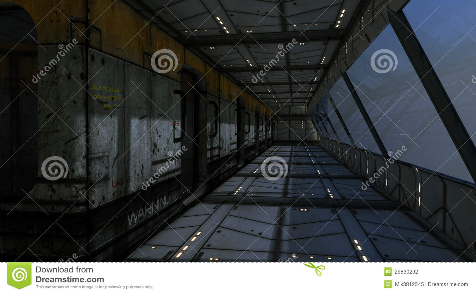Interior futurista