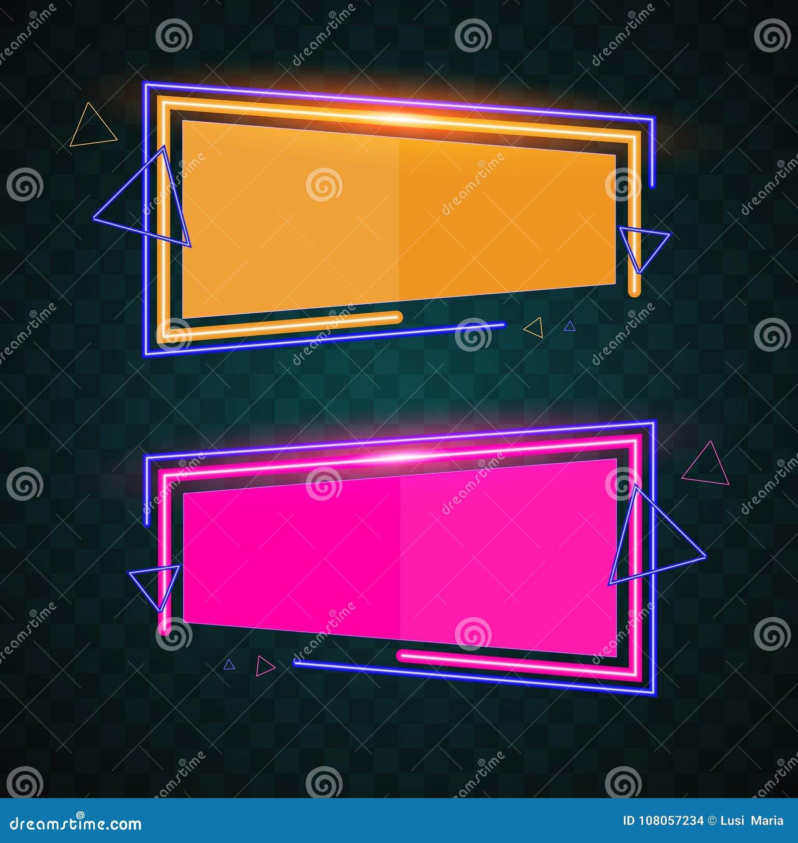Projeto da bandeira da tecnologia