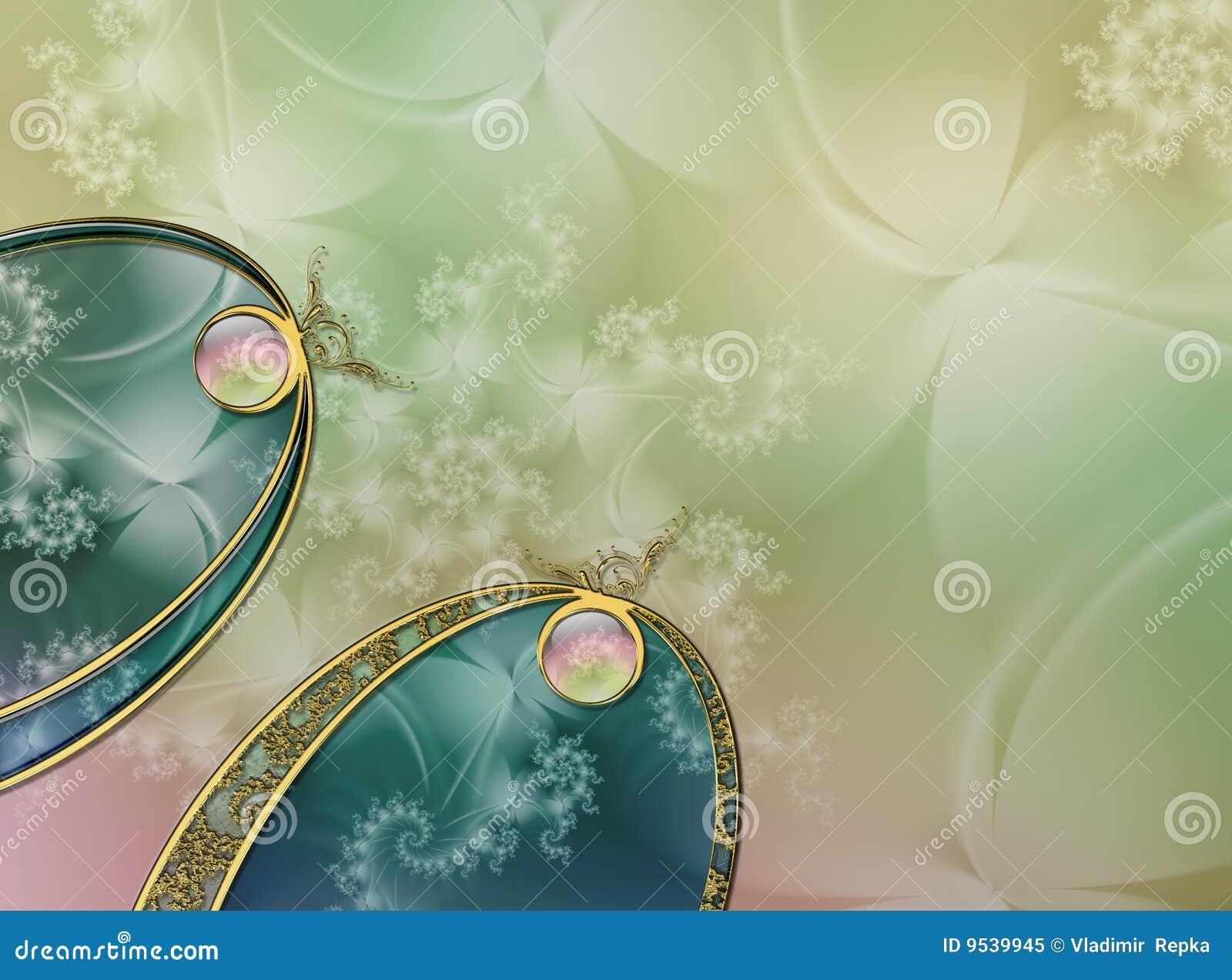 Projeto da disposição do fractal do fundo da foto