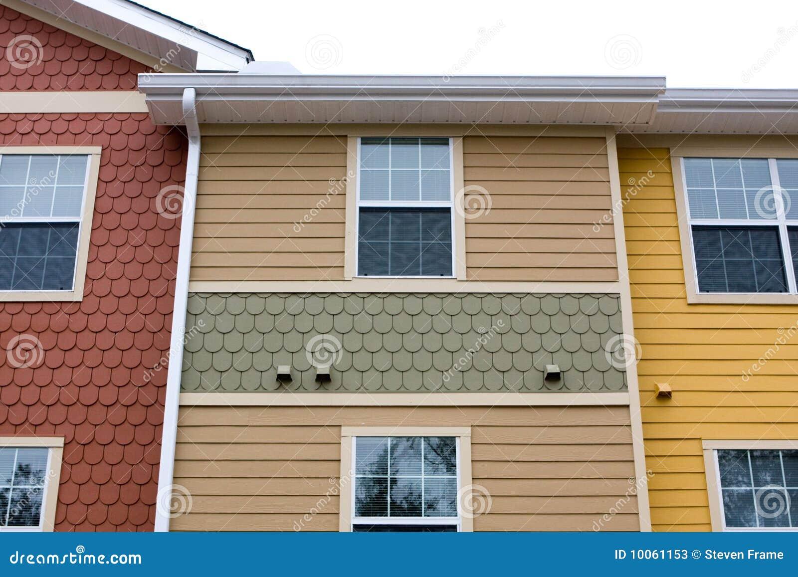 Projeto da fachada do apartamento