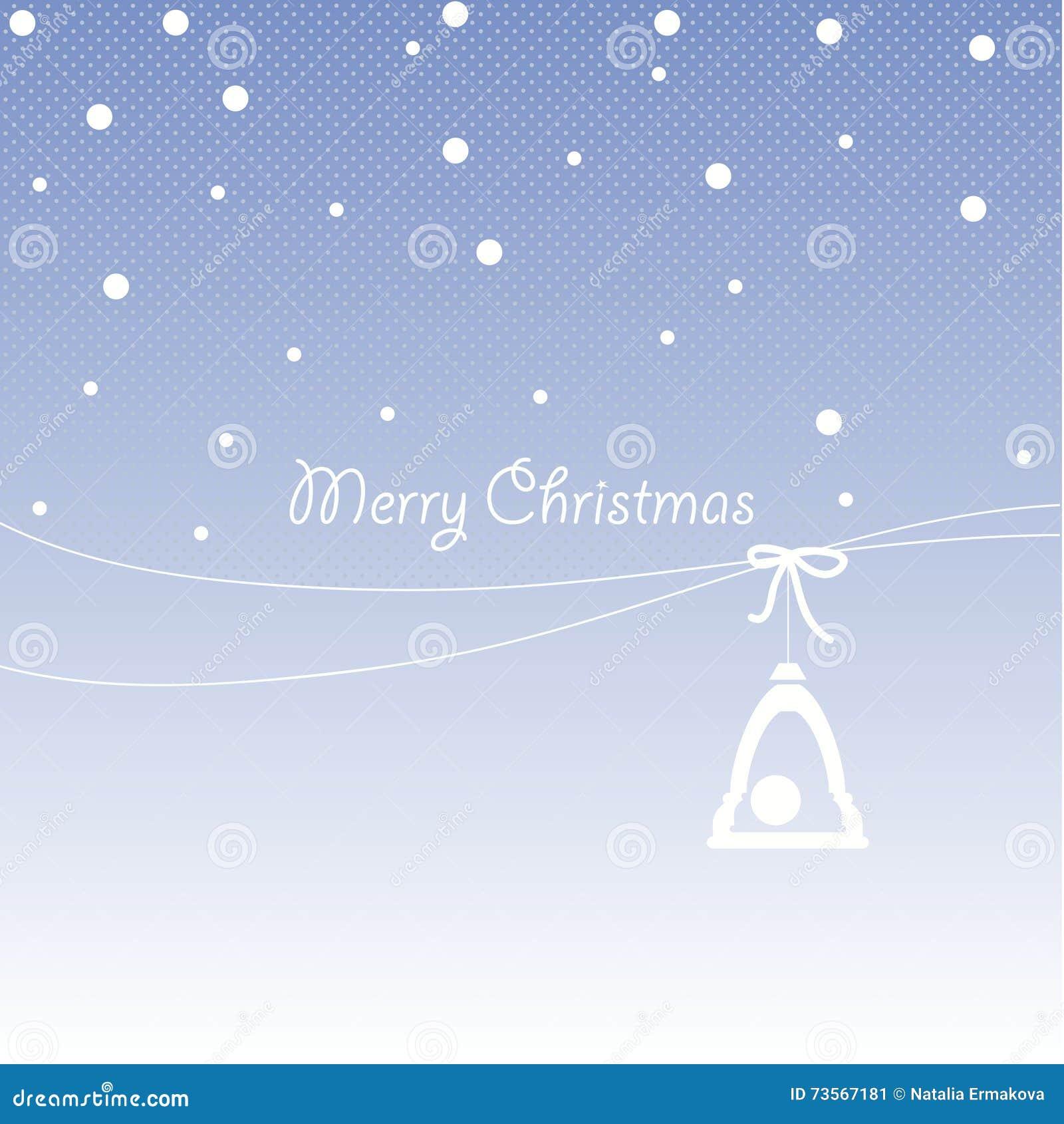Projeto da tampa para cartões do Natal